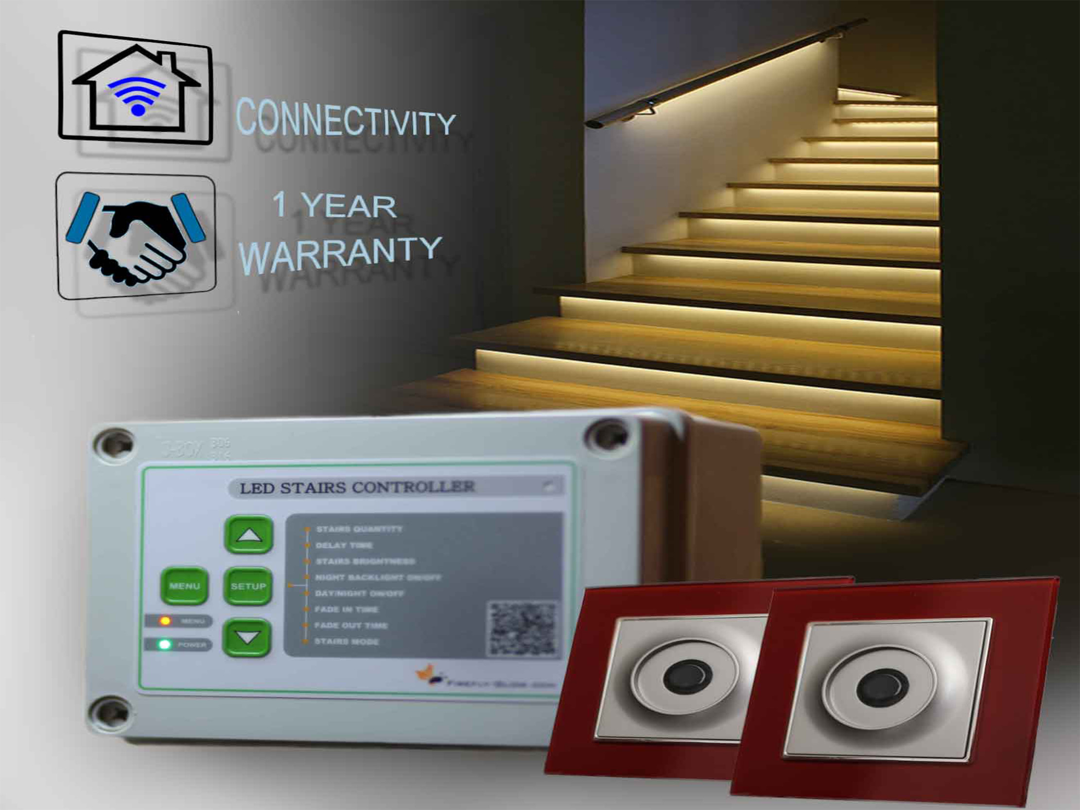 STR CONTROLLER LED STAIRS AUTOMATION